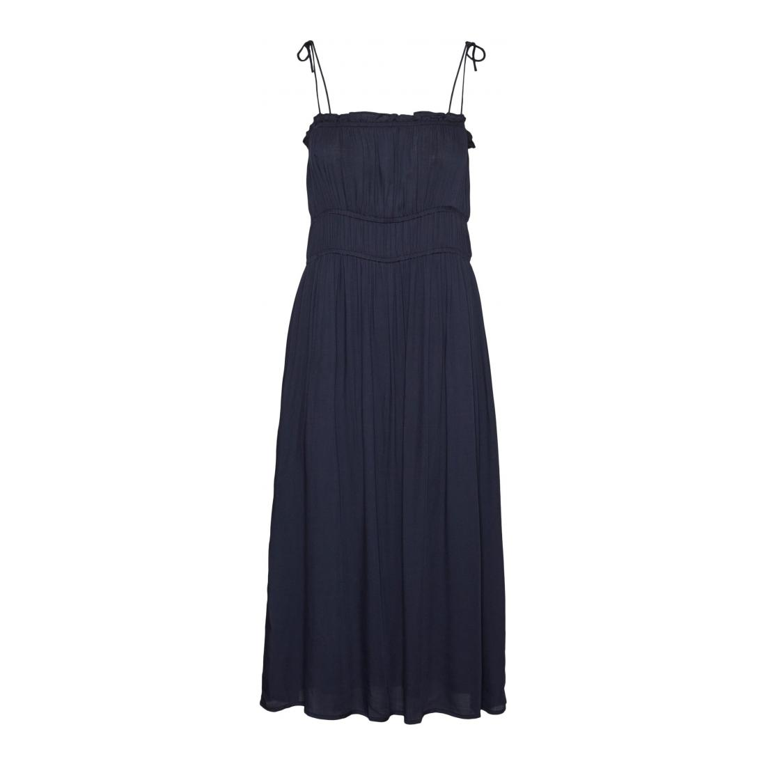 Vero Moda Kleider lang Damen VMHELYN STRAP CALF DRESS