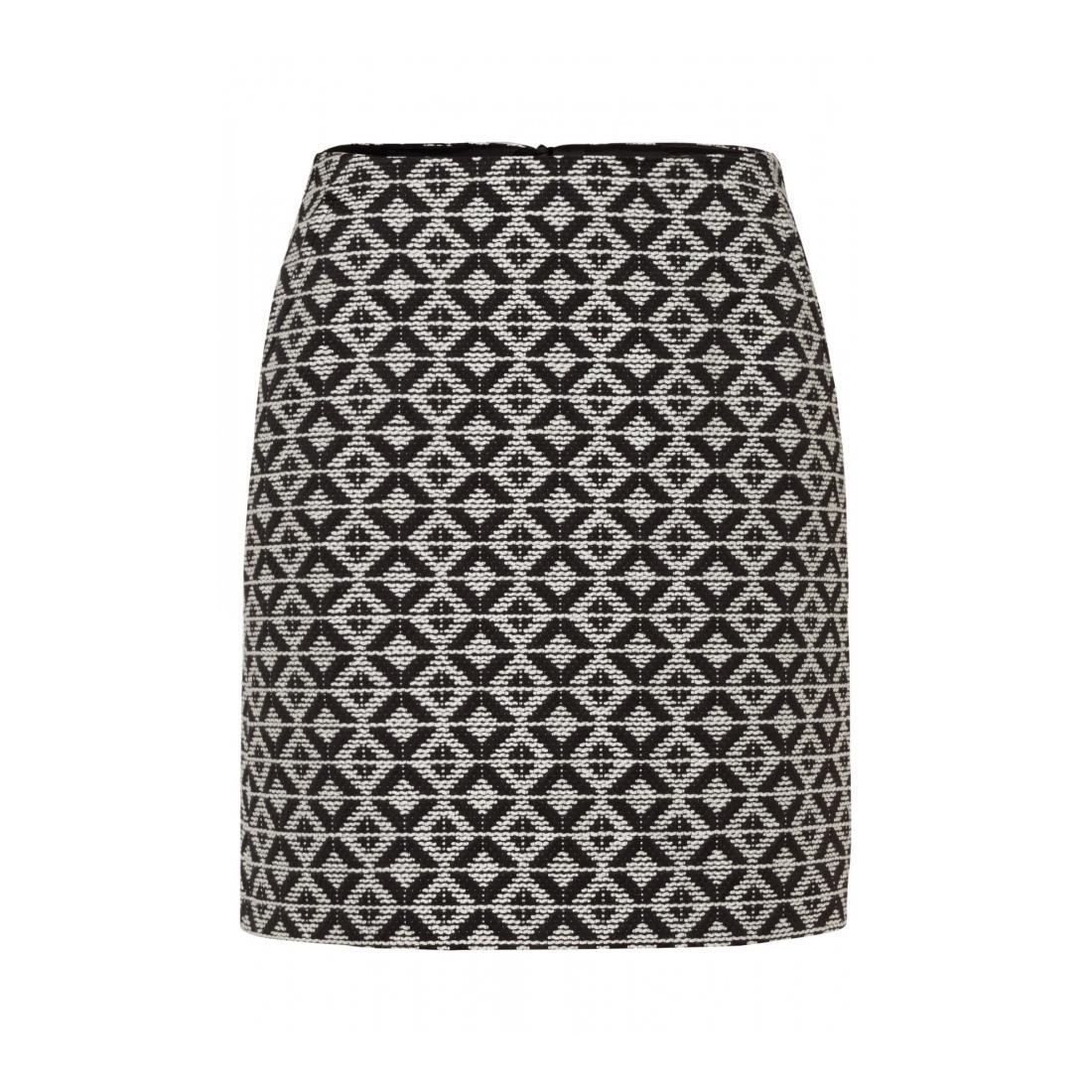 More & More  Big Rhomb Jacquard Skirt