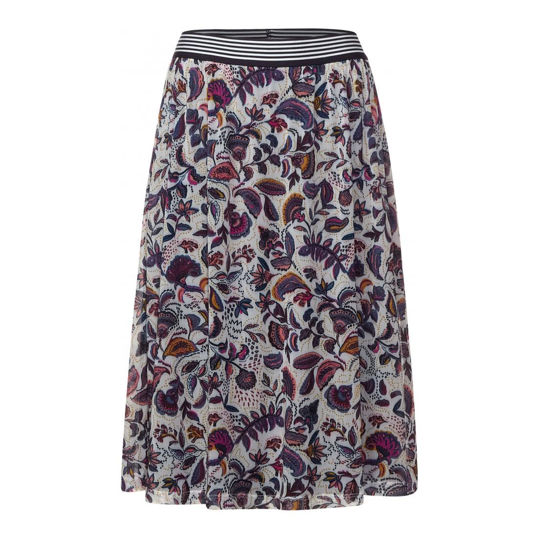 Cecil Röcke lang Damen EOS_Mesh Skirt Paisley
