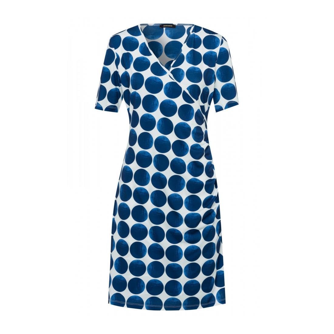 More & More Kleider kurz Damen Jersey Dress Active