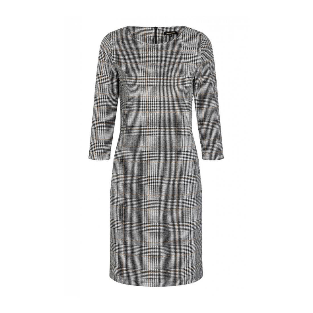 More & More Kleider lang Damen Glencheck Dress Active