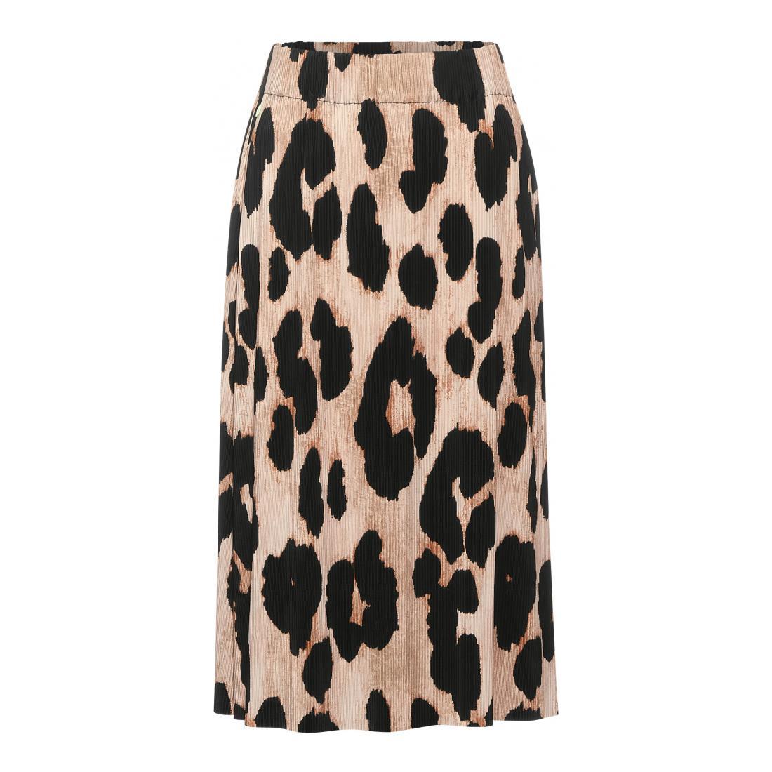 Street One Röcke normal Damen Midi skirt Plissée printe