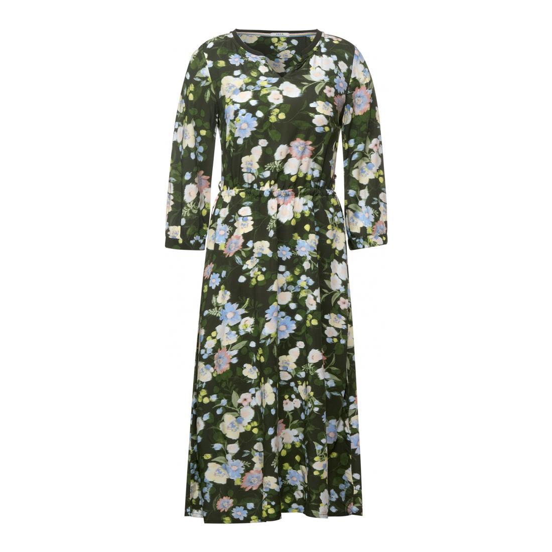 Cecil Kleider lang Damen Midi Flower Print Dress