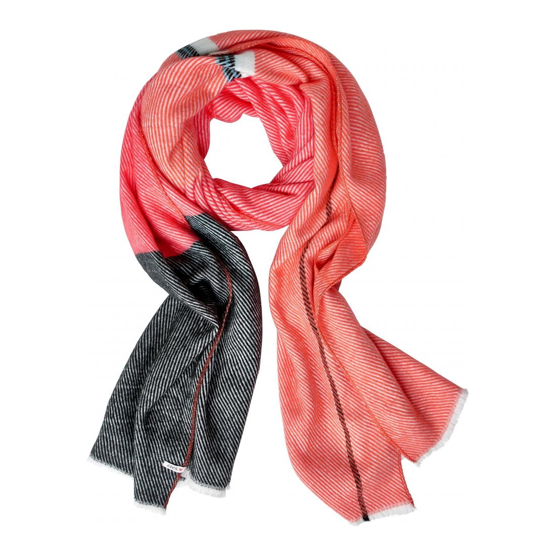 Cecil  Brushed Colorblock Scarf