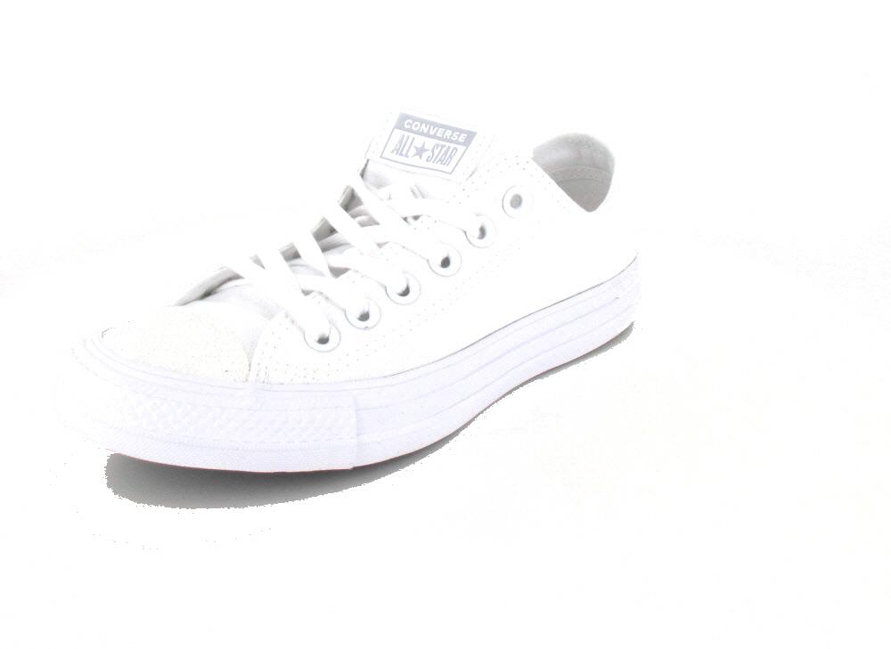 Converse  Ctas OX White/White/Silve