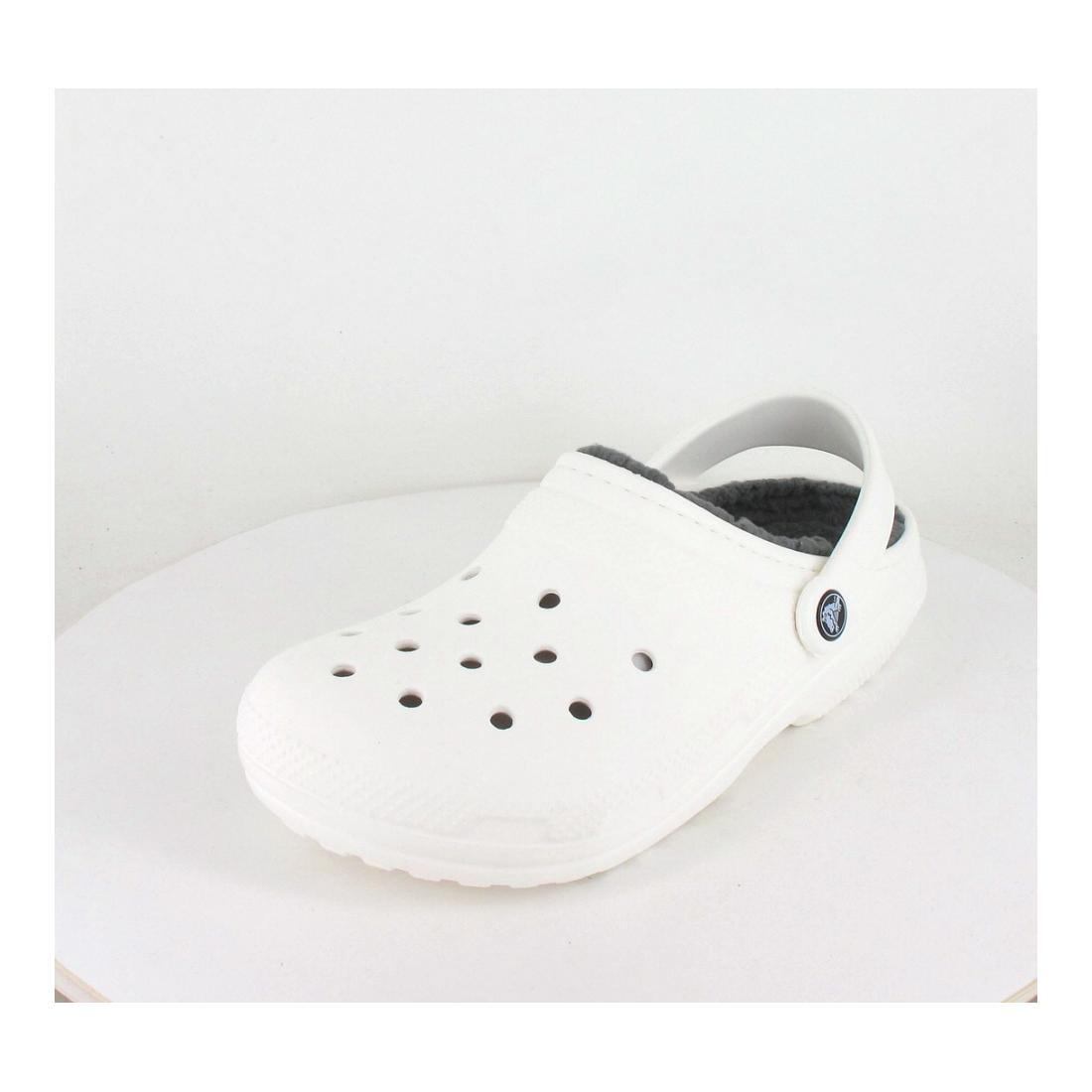 Crocs Pantolette Classic Fuzz-Lined Glog
