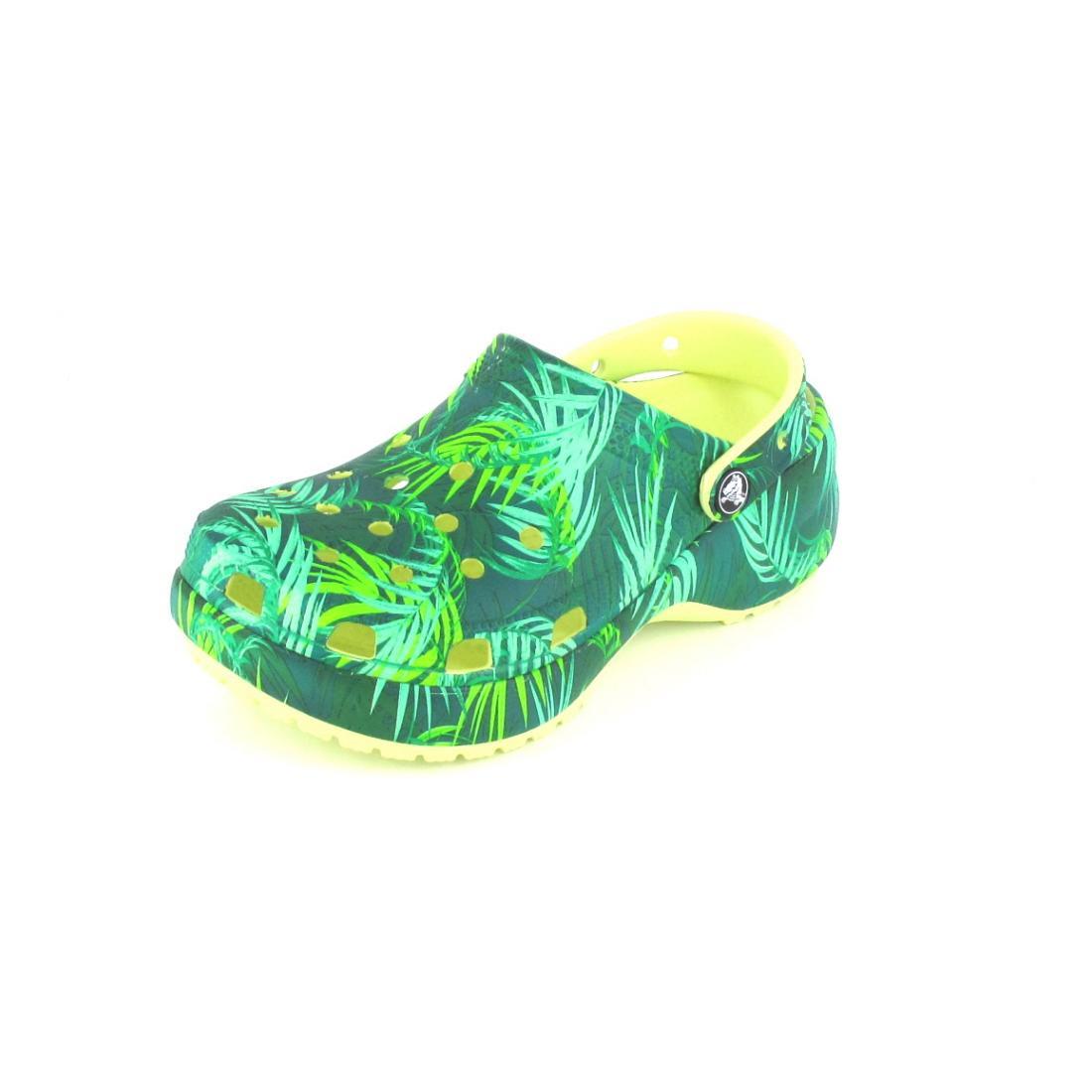 Crocs Clogs Classic Platform Tropical