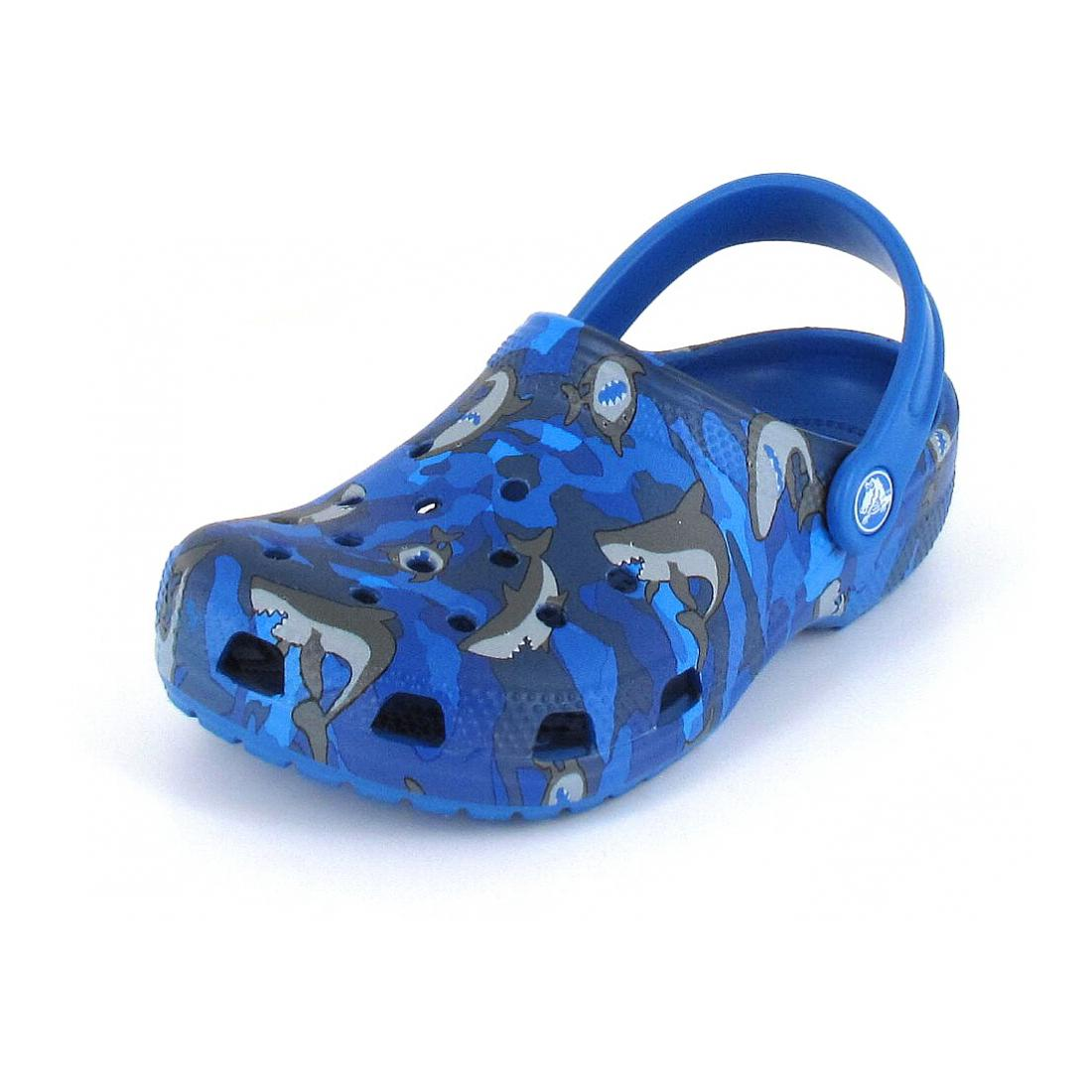 Crocs Clogs Classic Shark Clog PS
