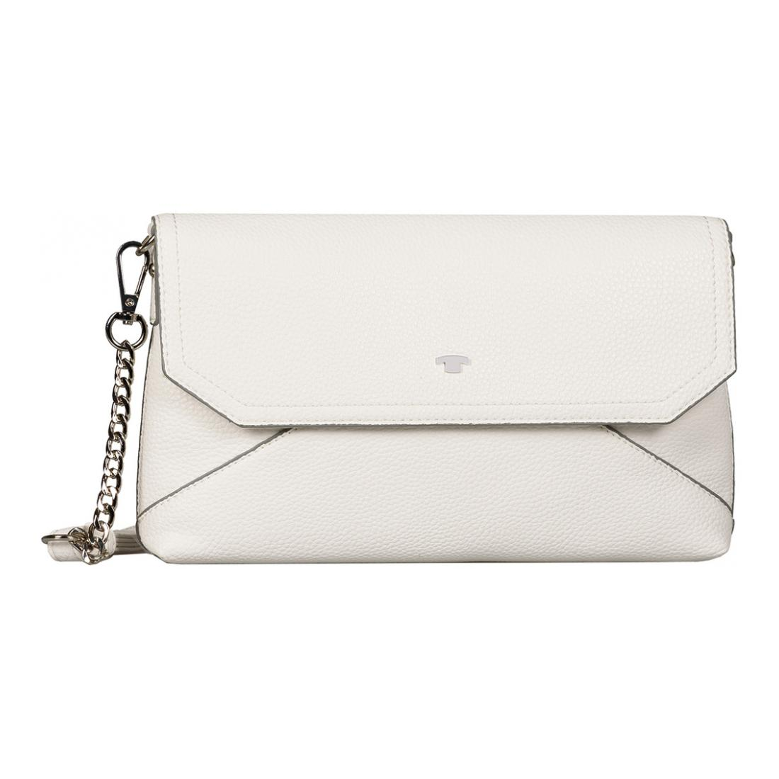 Tom Tailor Tasche VITTORIA Clutch white